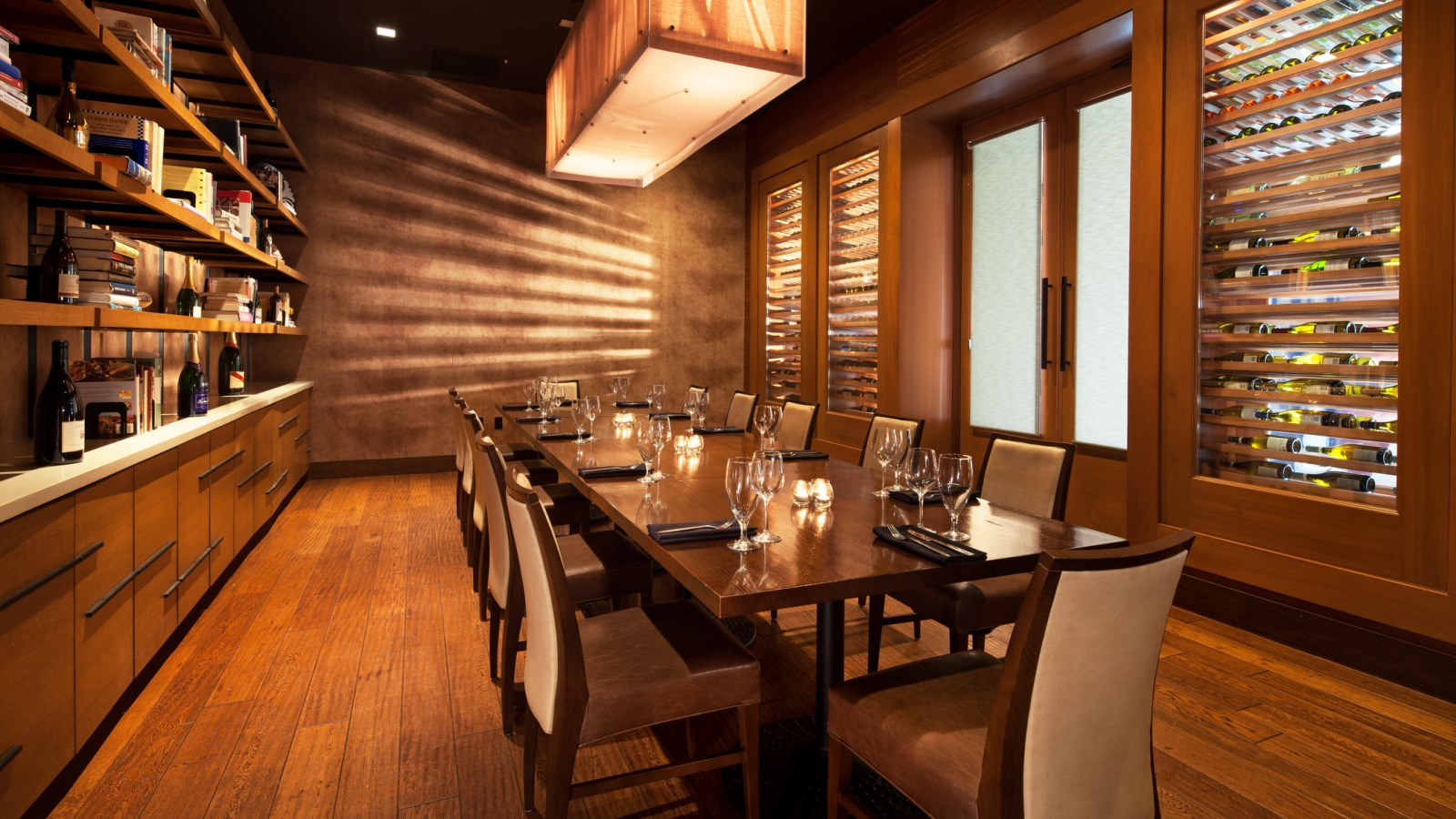 Austin Restaurant - Wine Room